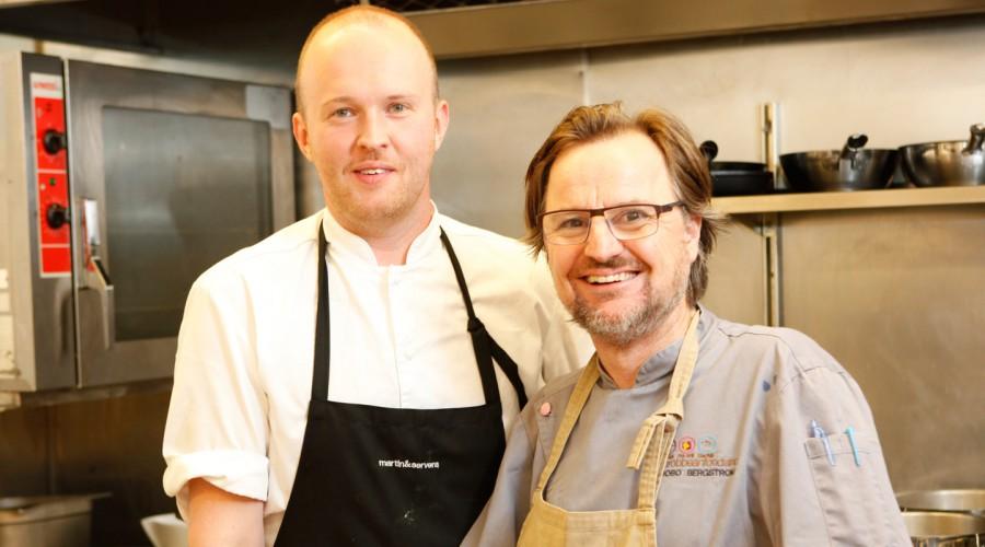 Fredrik Juhlin & Chef Bobo rockar!